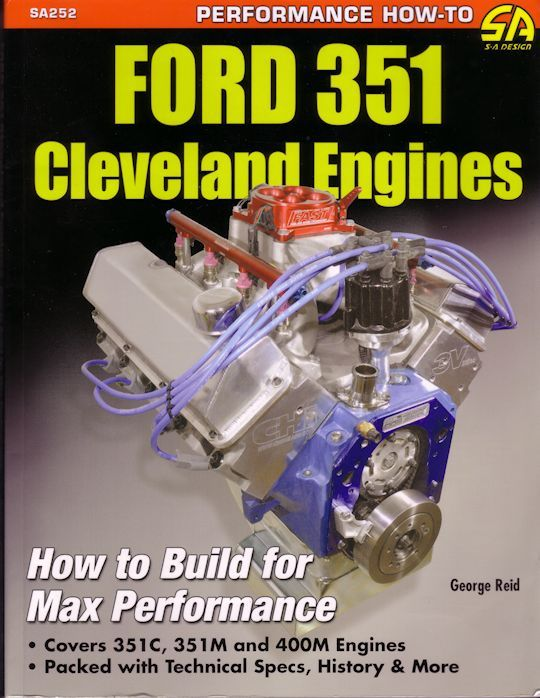ford 351 cleveland engines how to build for max performance rh pinterest com Ford 302 Engine Ford 385 Engine