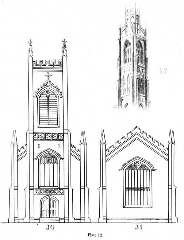 Essay On Gothic Architecture By John Henry Hopkins 1836 Gothic Architecture Gothic Architecture Drawing Orthographic Drawing