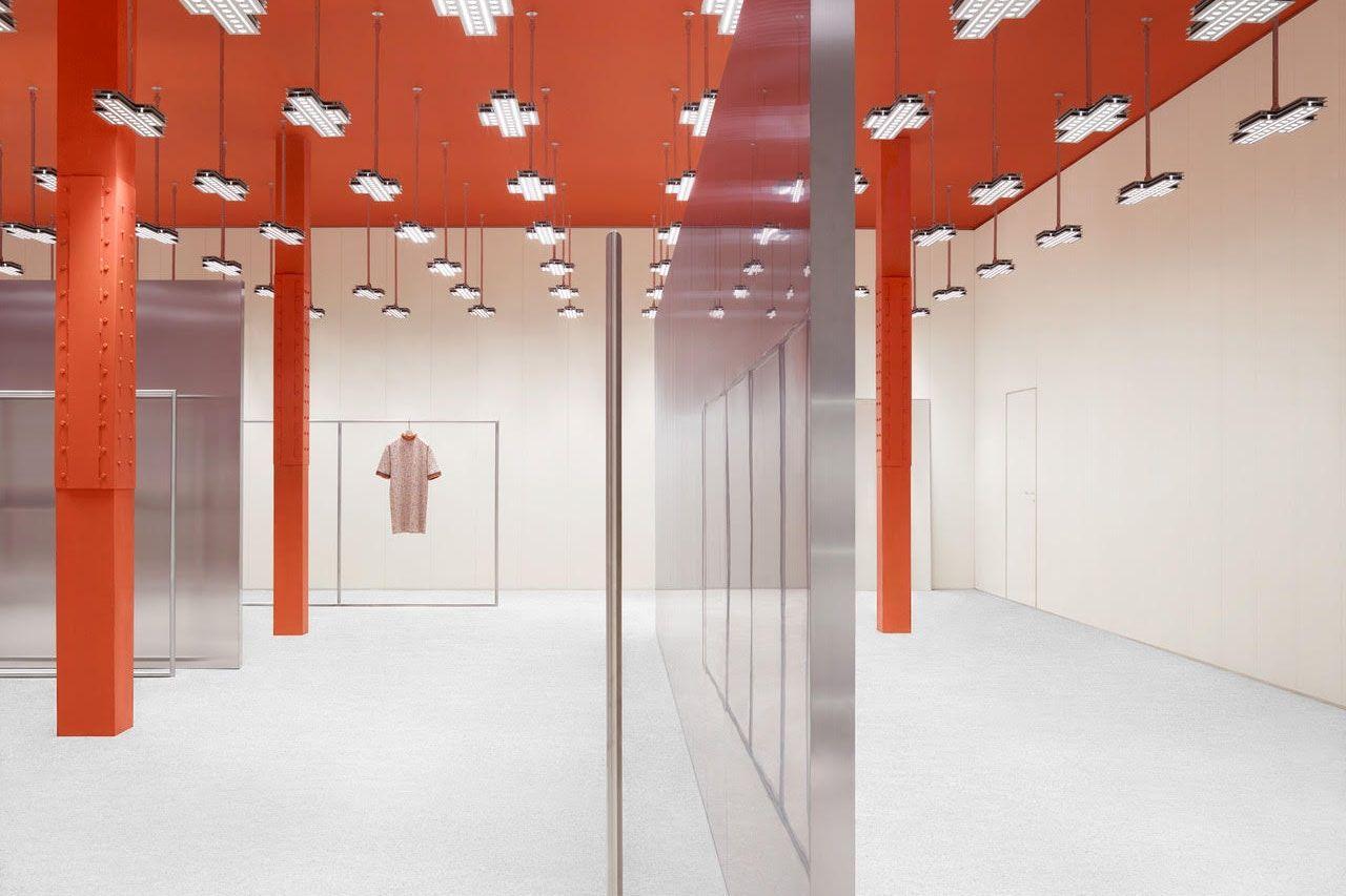 Take A Look Inside Acne Studios First Store In San Francisco Store Design Interior Store Design Store Interior