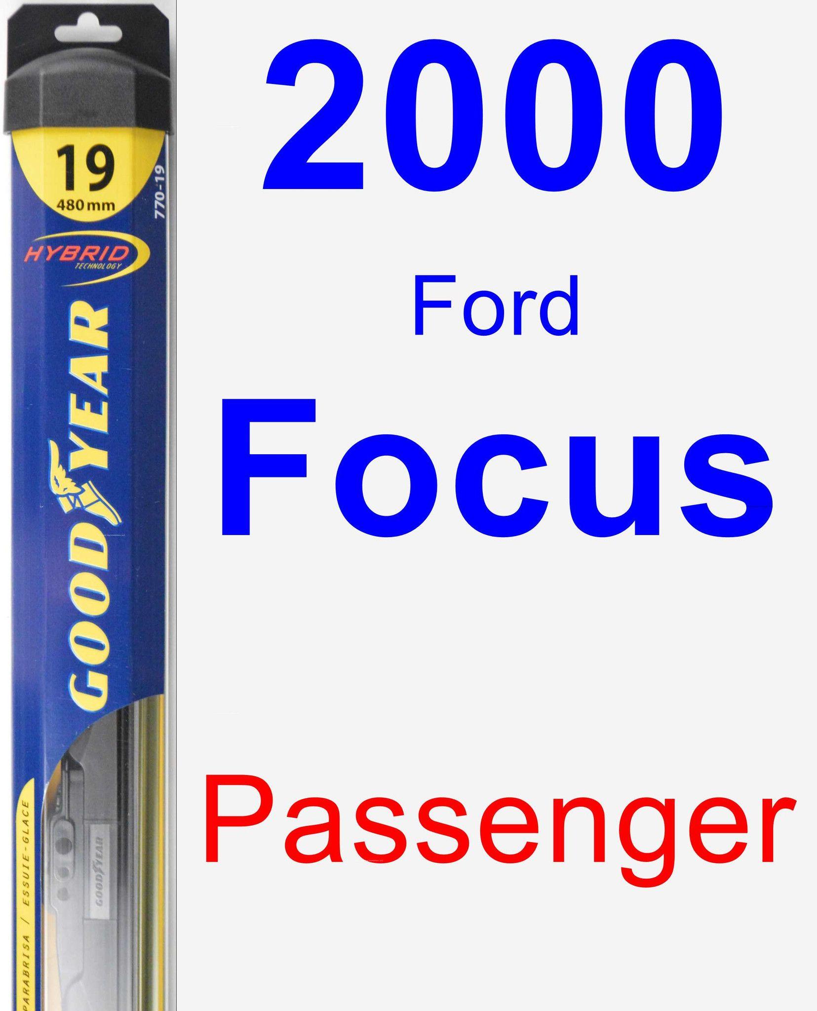 Passenger Wiper Blade for 2000 Ford Focus - Hybrid