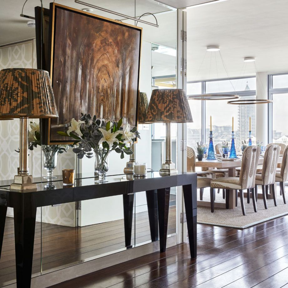 Take a tour around an impressive riverside apartment in ...