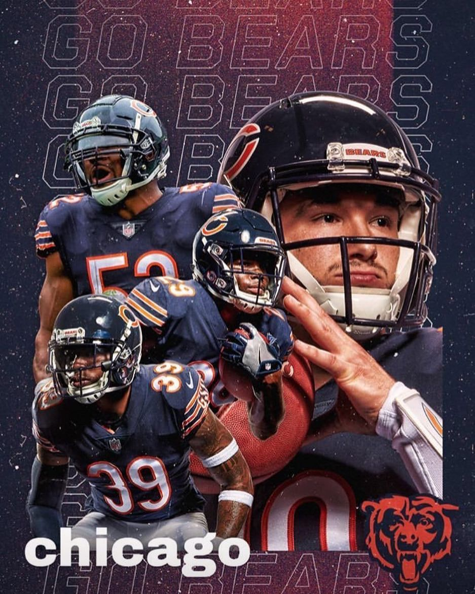 Bears Fanpage On Instagram Less Than 24 Hours Dabears Sol Chicago Bears Football Chicago Bears Chicago Bears Wallpaper