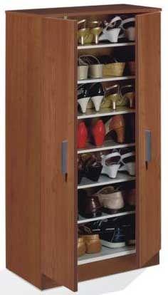 30 muebles zapateros modernos y baratos zapateras for Zapateras modernas para closet