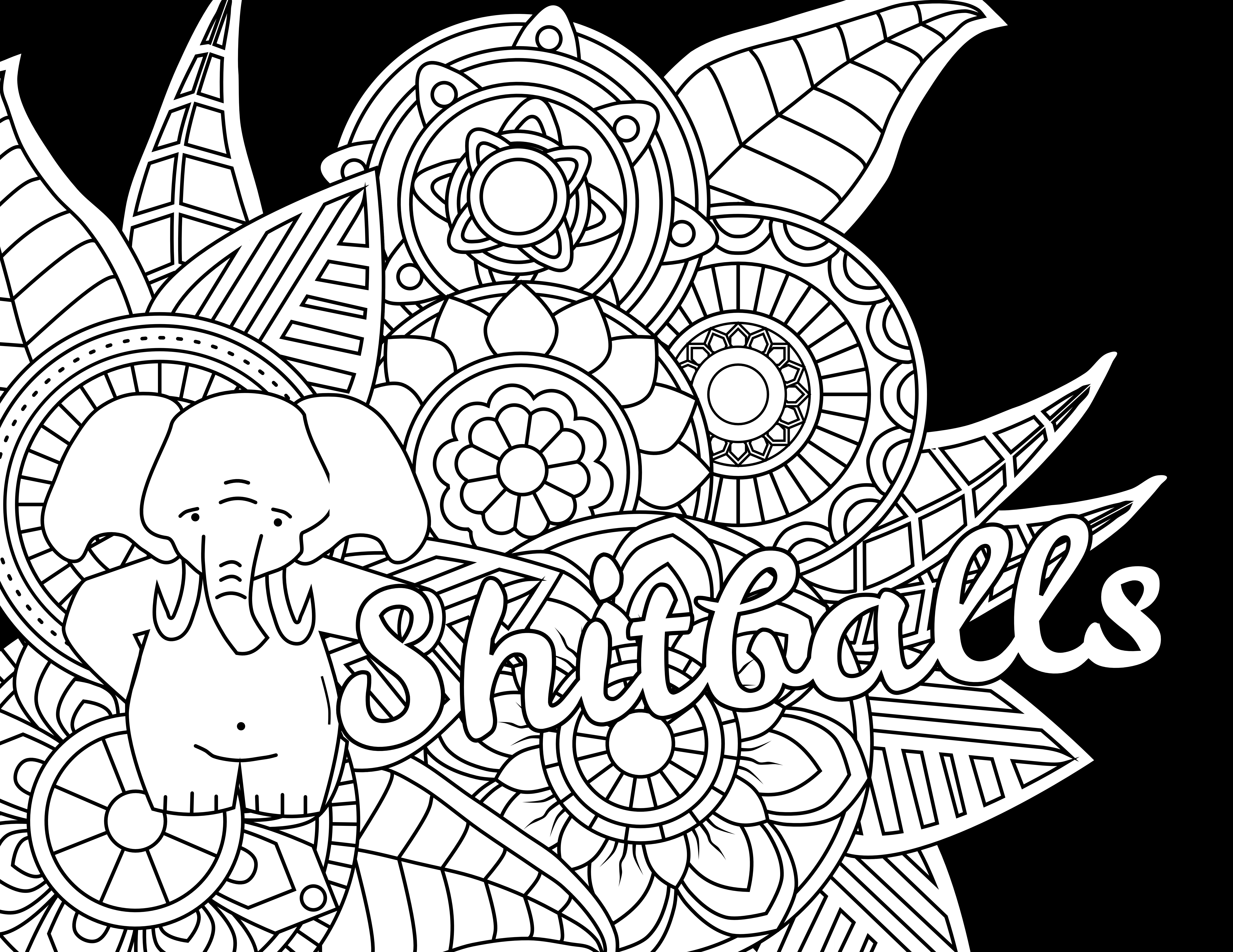 Girl prom dress adult coloring pages online free print | Adult ... | 5328x6900
