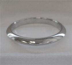 Tiffany Co Platinum 3mm Knife Edge Wedding Band Ring Tiffany