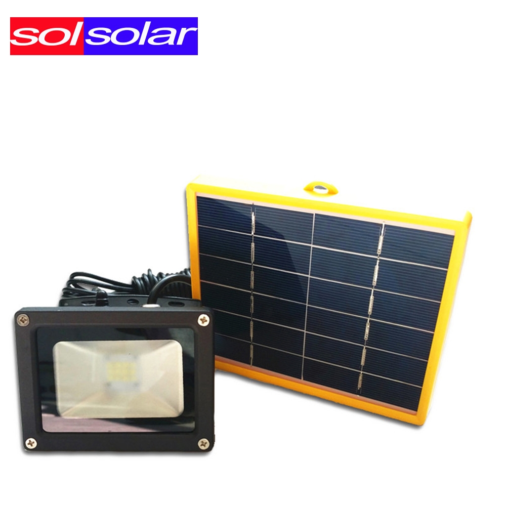 Solar Powered Flood Lights Outdoor 3494 watch more here waterproof 10w solar powered led flood 3494 watch more here waterproof 10w solar powered led flood light with 5m wire workwithnaturefo