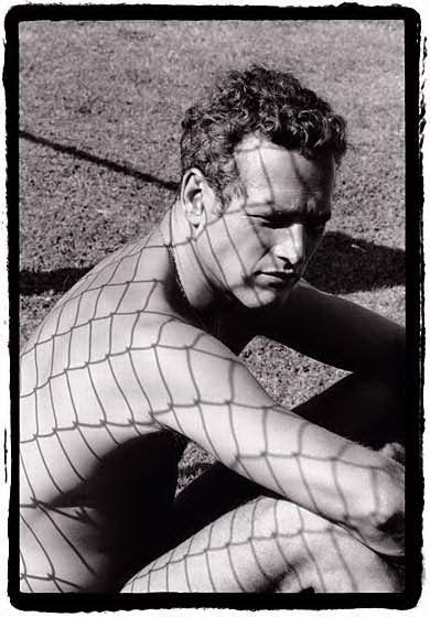 """Dennis Hopper on his photography...  """"I was a compulsive shooter back then. I was very shy, and it was a lot easier for me to communicate if I had a camera between me and other people.""""  Paul Newman, 1964 © Dennis Hopper"""