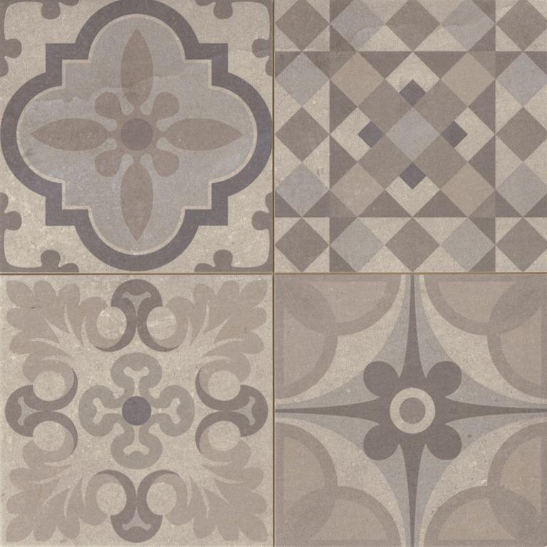 Carrelage vintage sol et mur 44x44 Skyros - Realonda | Cement ...