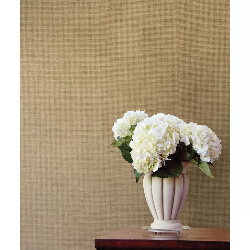 "Beier Grasscloth 24' X 36"" Wallpaper In 2020"
