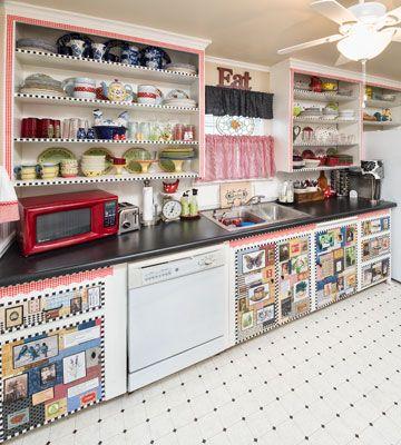 A 50 Budget Kitchen Makeover Kitchen Design Ideas Decoupage Country Woman Magazine Budget Kitchen Makeover Kitchen Design Kitchen On A Budget