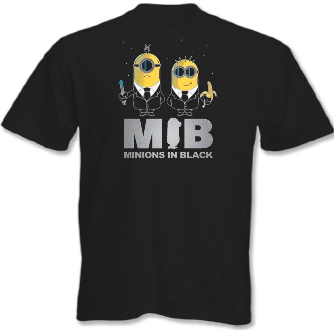 d061af6c Minions In Black - Mens Funny T-Shirt - Parody 3XL 4XL 5XL | Minions ...