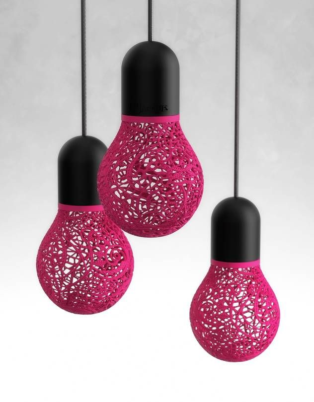 3 D Printing Adds Depth To Home Decor Lace Lamp 3d Printer Designs 3d Printer Pen