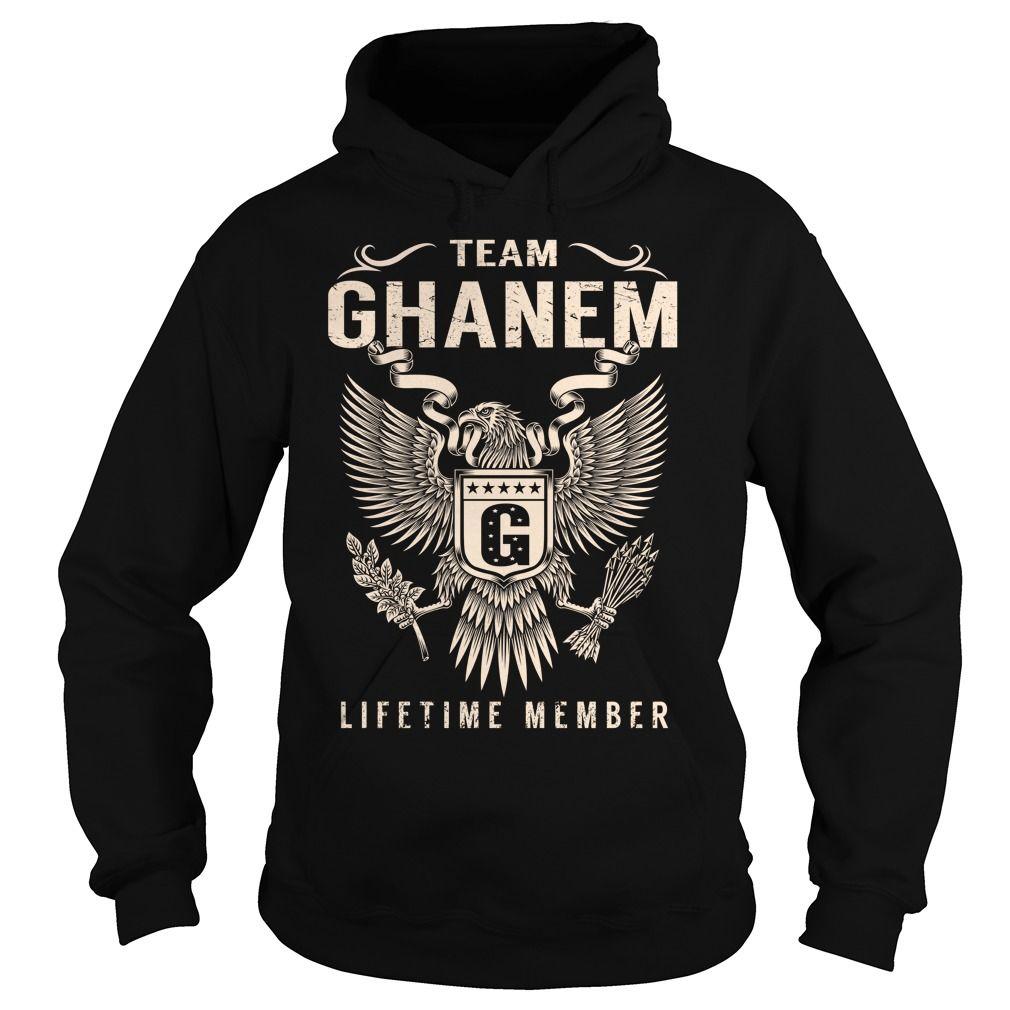 Team GHANEM Lifetime Member - Last Name, Surname T-Shirt