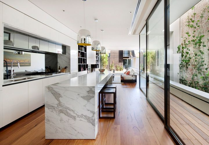Mary Street Residence St Kilda Australiaextension And Gorgeous Kitchen Design Ideas Australia 2018