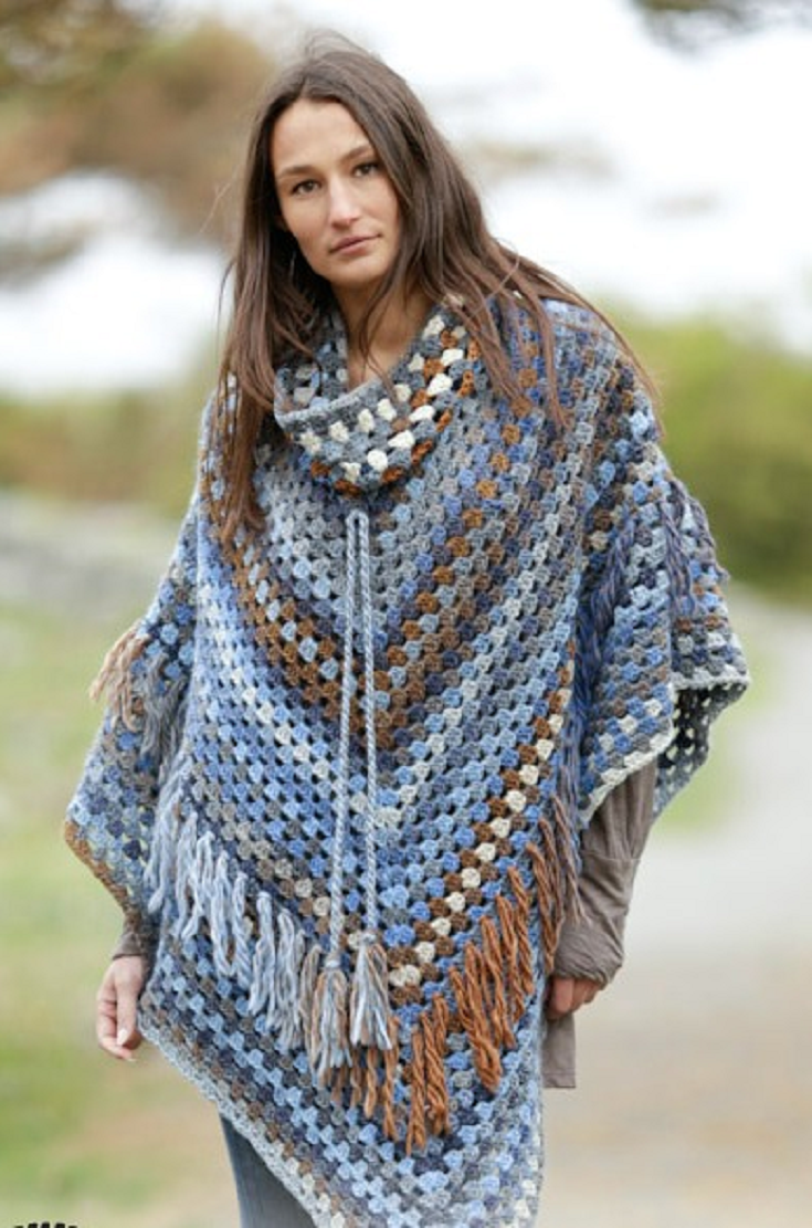 5 free and fabulous crochet poncho patterns crochet poncho 5 free and fabulous crochet poncho patterns bankloansurffo Choice Image