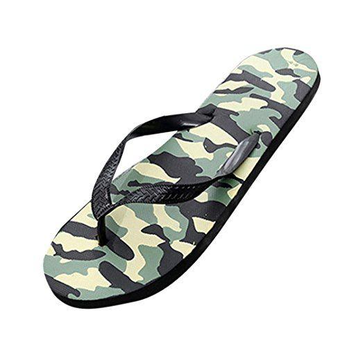Chanclas y Sandalias Camuflaje de Playa para Hombre daabbe51568