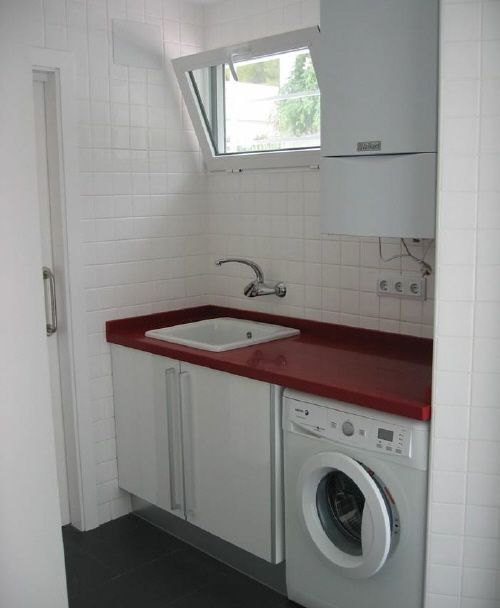 Como ambientar y decorar el cuarto de lavado centros de for Diseno lavadero