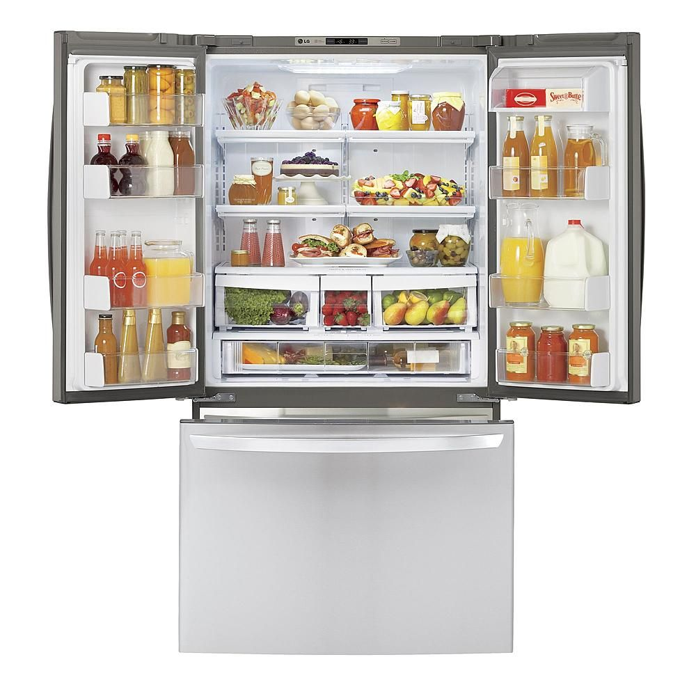 LG French door refrigerator 20.7 cu. ft. LFX21776ST - Sears ...