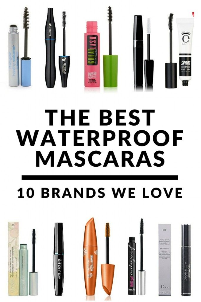 best waterproof mascaras 10 brands we love maquillage et beaut. Black Bedroom Furniture Sets. Home Design Ideas