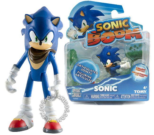 Sonic Boom Figura Articulada - Sonic