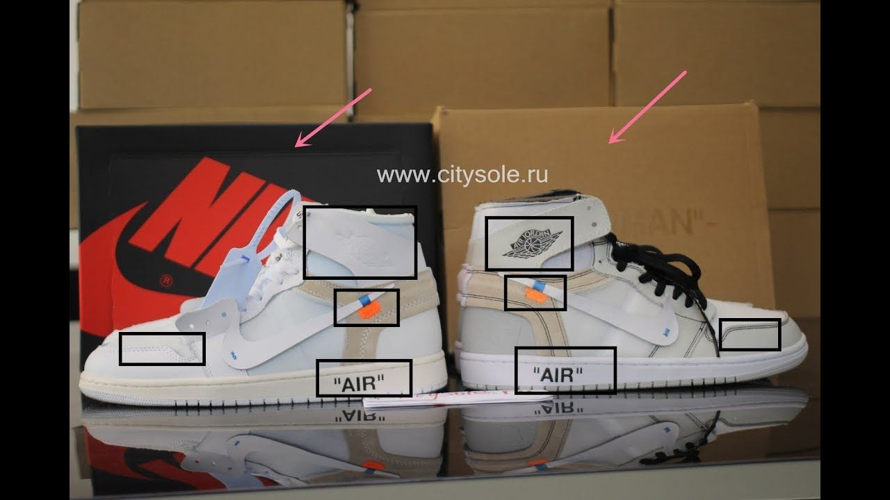 0210f8bb Off White Air Jordan 1 Triple White RealCitysole ru vs Fake www ...