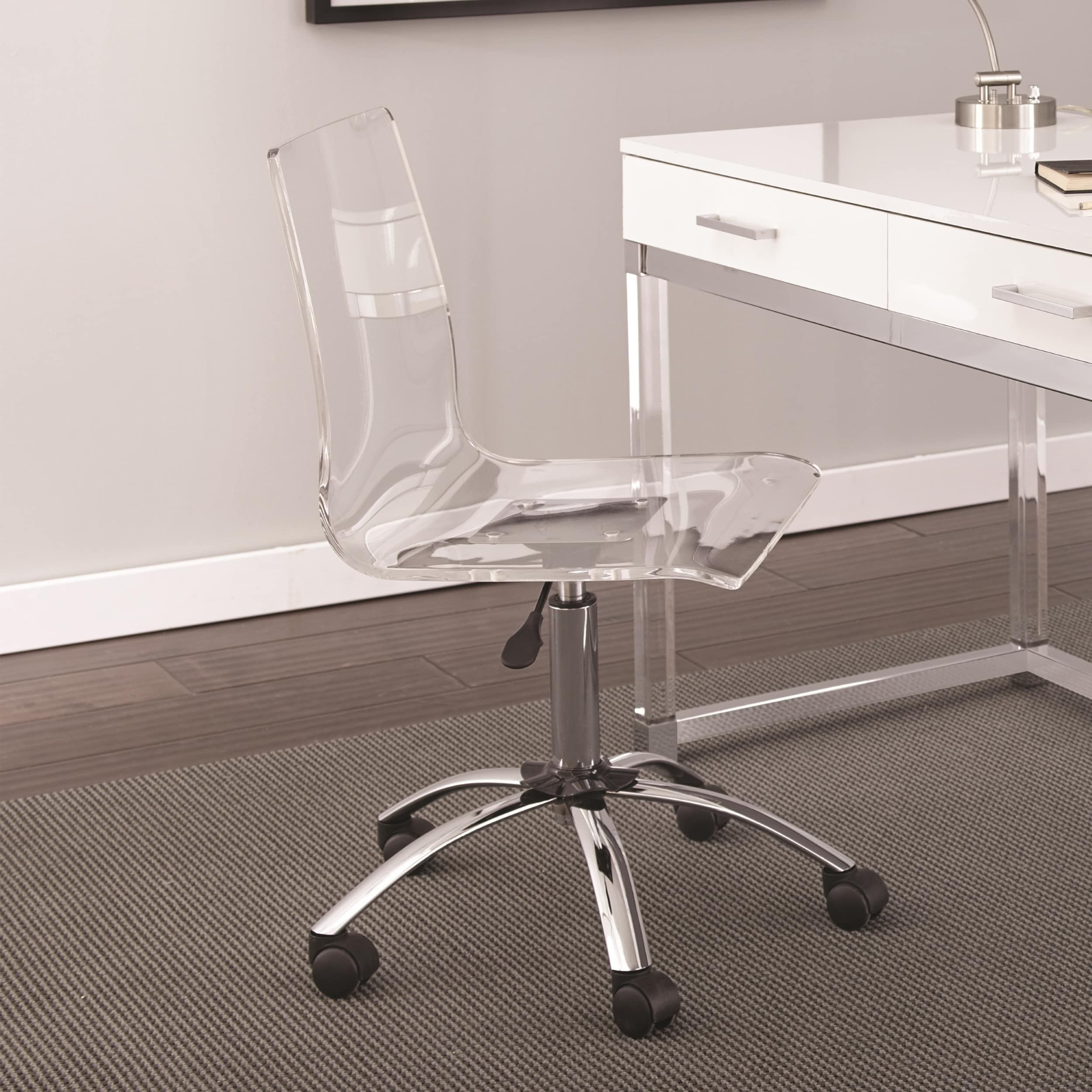 Awesome Aerial Adjustable Swivel Office Chair By Greyson Living Evergreenethics Interior Chair Design Evergreenethicsorg