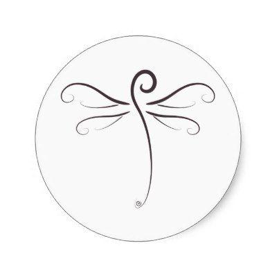simple dragonfly drawing - Google Search | Bordado | Pinterest ...