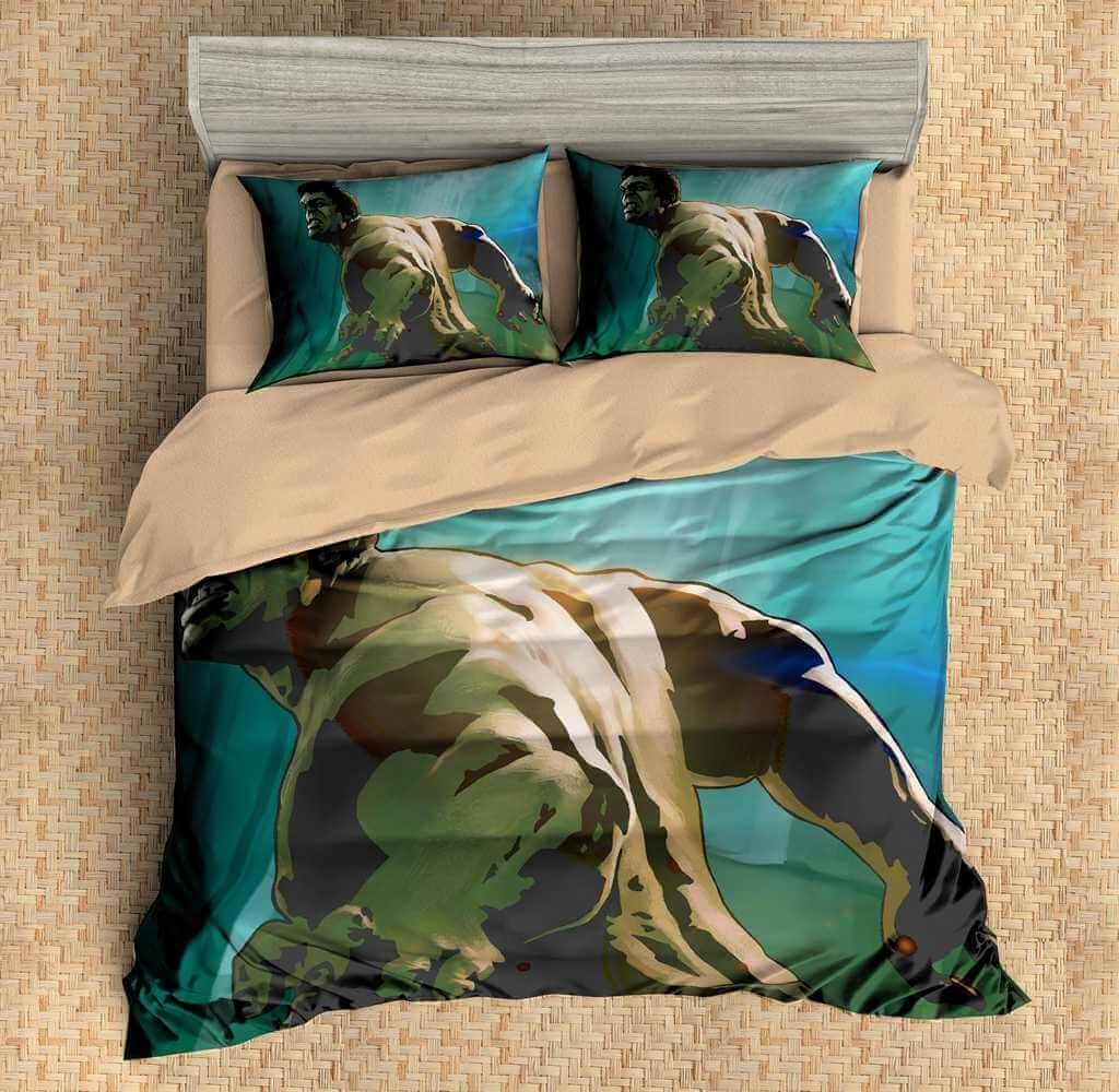 Hulk Duvet Cover Set