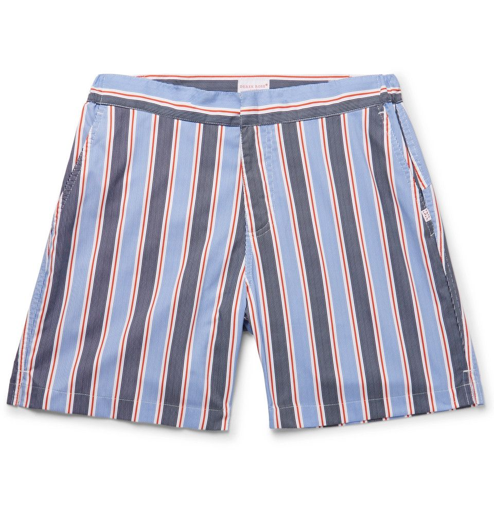 Cheap Looking For Mid-length Printed Swim Shorts Derek Rose Clearance Store For Sale Discount 2018 Outlet Discount The Cheapest Cheap Price KRXubgi