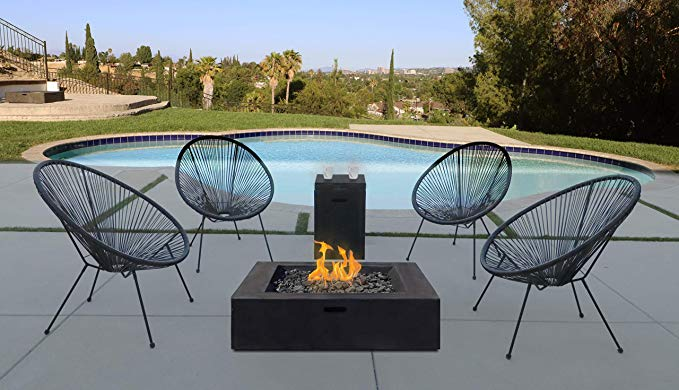 Amazon Com Fire Pit Seating Acapulco Chair Set All Weather