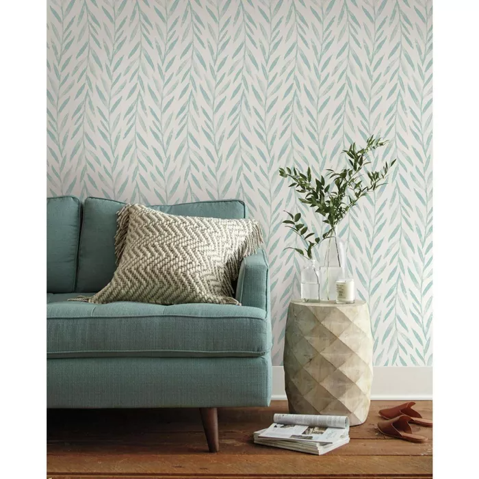 Roommates Willow Magnolia Home Wallpaper Blue Home Wallpaper Magnolia Homes Joanna Gaines Wallpaper