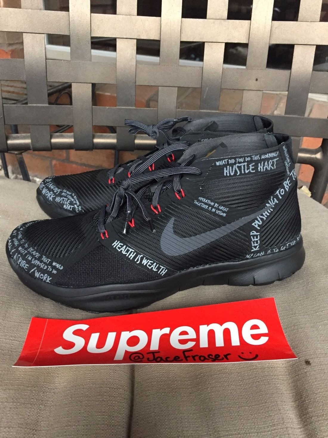 timeless design 3e257 a84ff Nike Kevin Hart Nike Hustle Hart Free Train Instinct 3m Reflective Size US  9.5   EU 42-43