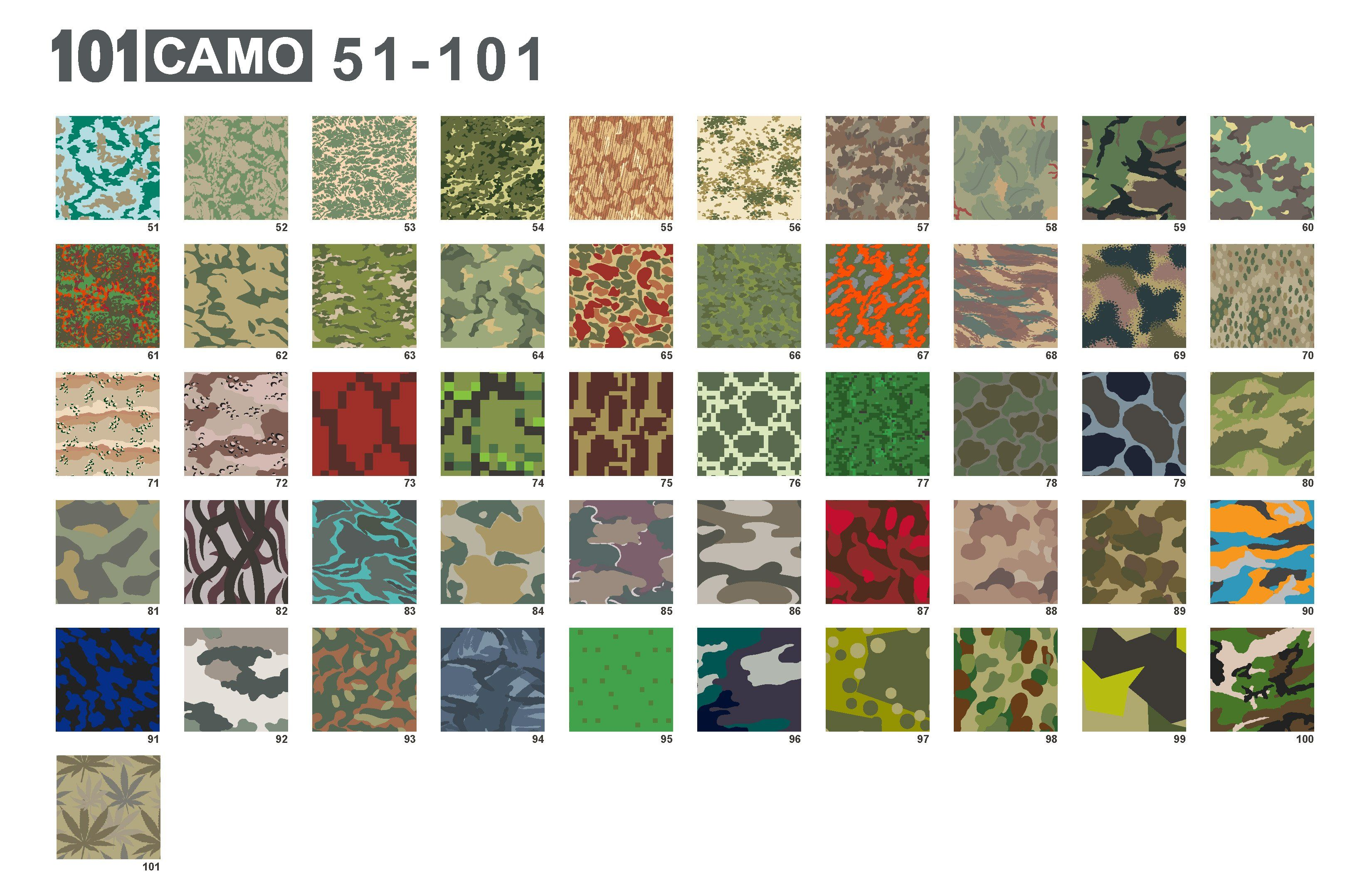 101 Camo Patterns With Images Camo Patterns Camouflage