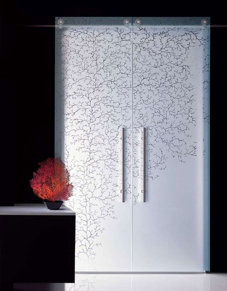 15 Fantastic Full Glass Frosted Frameless Interior Doors