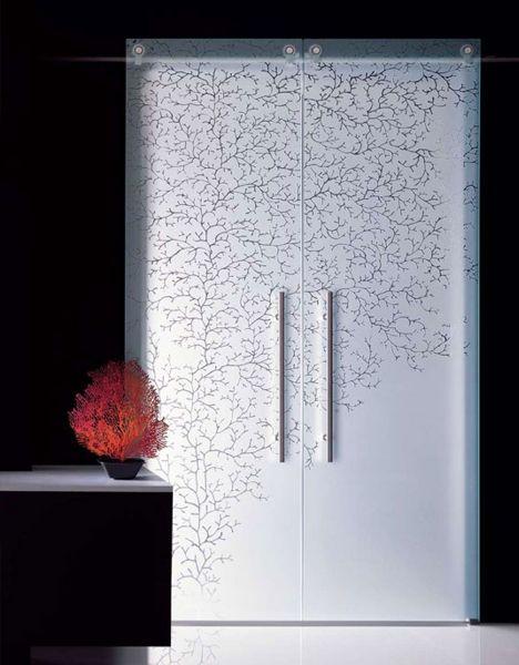 quite nice 24cca 8cb0e 15 Fantastic Full-Glass, Frosted & Frameless Interior Doors ...