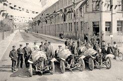Der Sound von 1914 füllt das Werksgelände