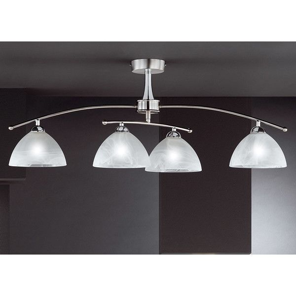 Honsel Prestige 4 Light Semi-Flush Ceiling Light & Reviews | WF