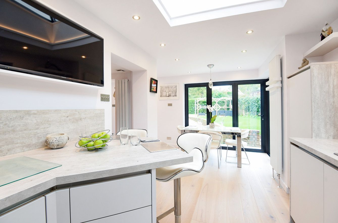 Contemporary compact kitchen designed and installed by KCA ...