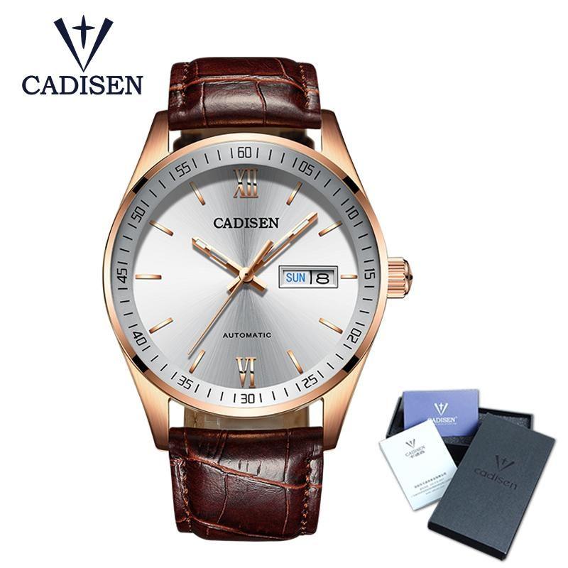249236733ce6 Cadisen Mens Watches Top Luxury Sapphire Glass