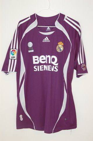 b0899b011 2006 2007 Real Madrid David Beckham 3rd Jersey