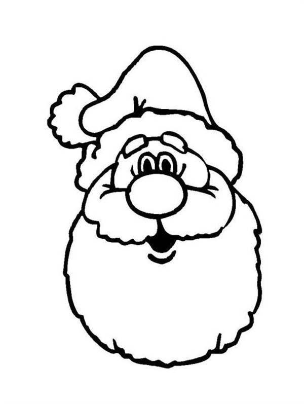 Christmas A Classic Ho Ho Ho Laugh Of Santa Claus Coloring Page