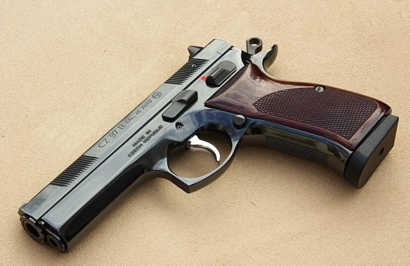 Custom CZ 97B  45ACP | Guns | Hand guns, Guns, Survival weapons