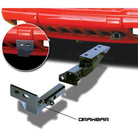CURT 112451 Class 1 Trailer Hitch with Ball Mount