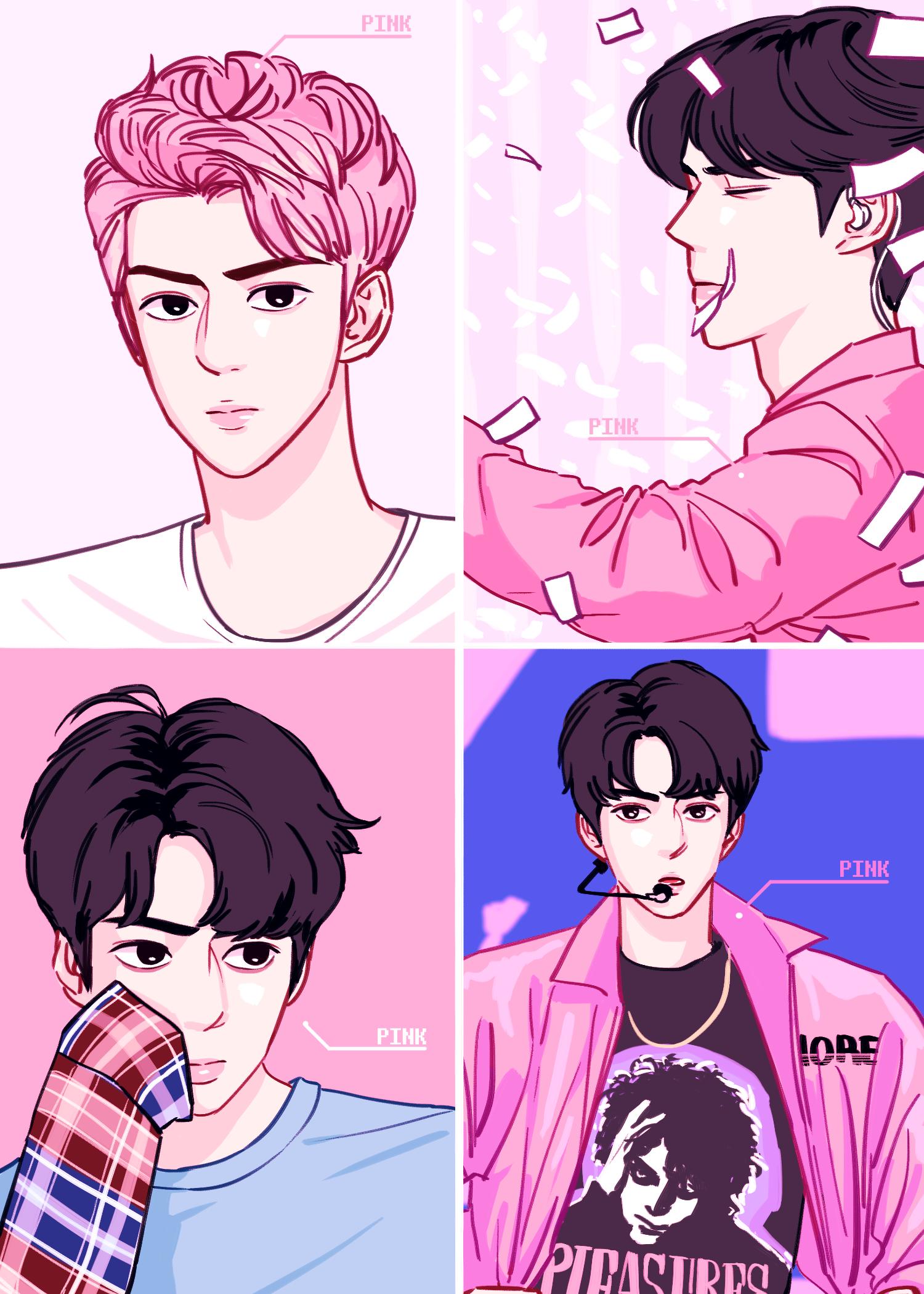 EXO SEHUN in 2019 Exo anime, Exo kokobop, Sehun