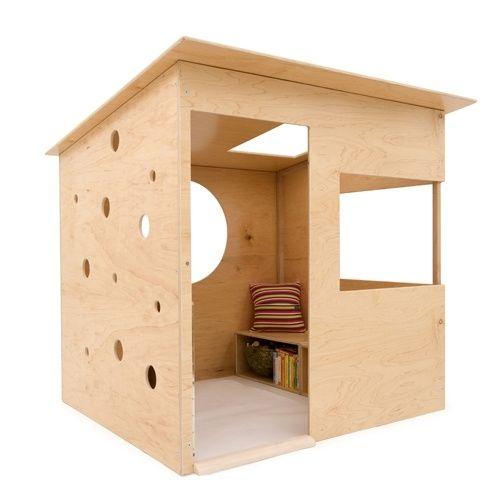 Wedge House Wooden indoor playhouse by angeline Indoor