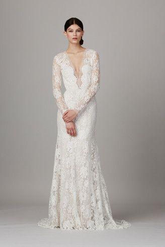 Langarm Brautkleid Lela Rose - Promi Brautkleider aus Amerika ...