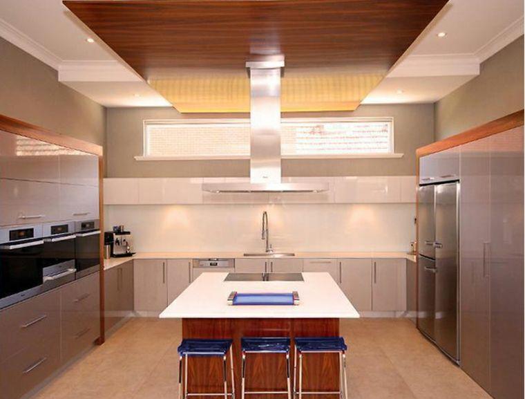 Cocina de obra - treinta y siete diseños estupendos | Mueble cocina ...