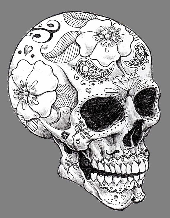 cool skull art!   Skeletons and spell books   Pinterest   Tattoo ...