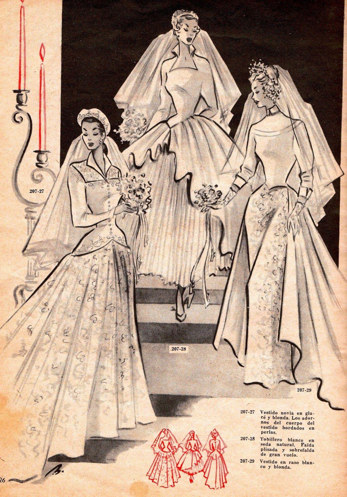 a4919dcbc2 Historia de la Moda y los Tejidos  LA MUJER Y LA MODA EN LA ESPAÑA DE LOS  AÑOS 50