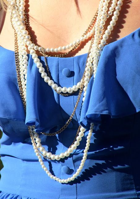 layering pearls